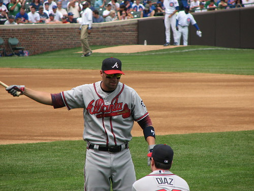 Francoeur Talking To Matt Diaz