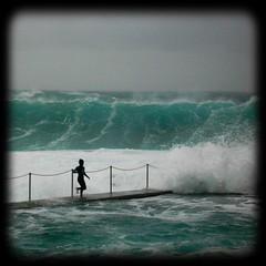 Thundering  Waves (estelucy) Tags: children surf waves sydney australia newsouthwales bronte oceanpool brontebeach focuslegacy