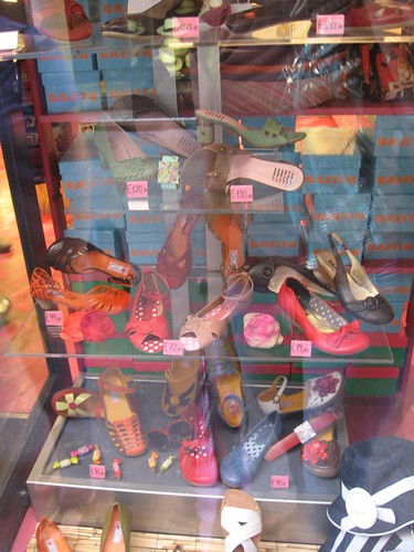 Shoes in Window