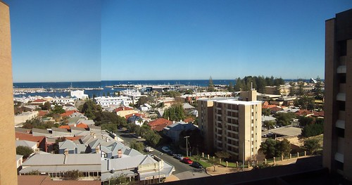 View from Freo Hospital