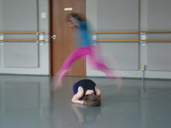Hyla's Leap - dance class