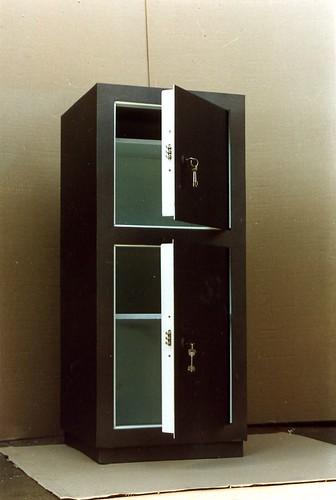 Касса металлическая огнеупорная С 22110-96/199  (1300x500x400 мм).