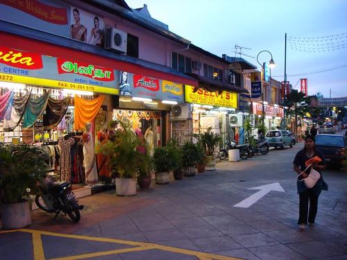 Little India, Penang, Malaysia.