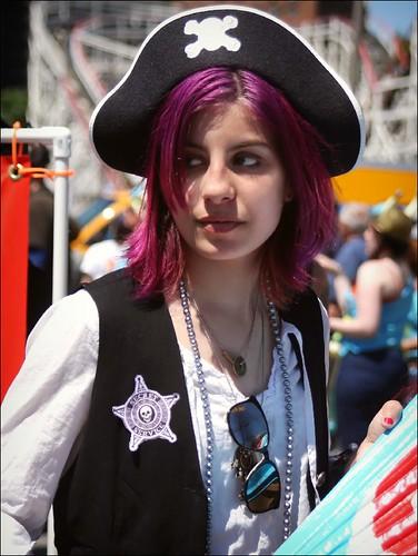 Pretty Purple Pirate
