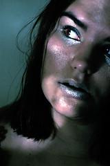 Day 119 (dissolvegirl) Tags: self 365days water cold female face crossprocessed makeup darkroomhacker c41e6 trueconfessions iseriouslyhavenolife ineedlocalfriends thenicandothisstufftotheminstead