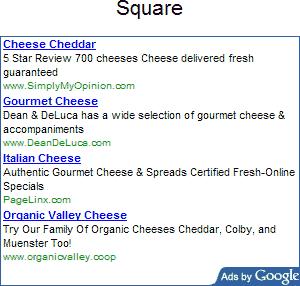 adsense square