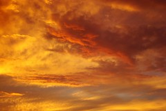 flame on! (Esther17) Tags: sunset red sky orange storm love yellow clouds utata yella fiery monsoons