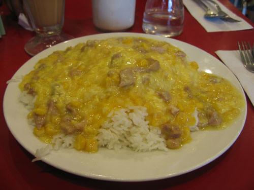 Pork and Corn dish @ ABC Cafe