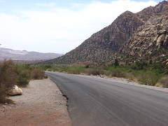 (marina~) Tags: redrockcanyon road mountain desert lasvegas end