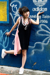 Daphny (swanky) Tags: portrait people woman cute girl beautiful beauty canon asian eos md model women asia pretty taiwan babe belle taipei taiwanese 2007   30d   dcview   daphny