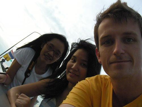Chao Praya visit #02 - Ben, Jeab, me