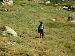 Descente de Bocca di Chiralba vers les bergeries de Chiralbella