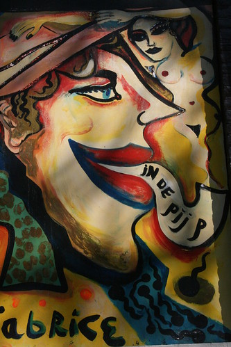 Mural of a Strange Face