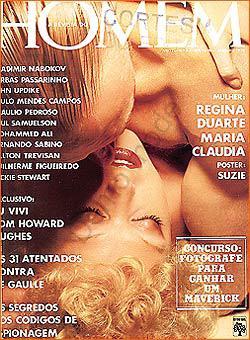 Regina Duarte capa da Playboy, digo HOMEM