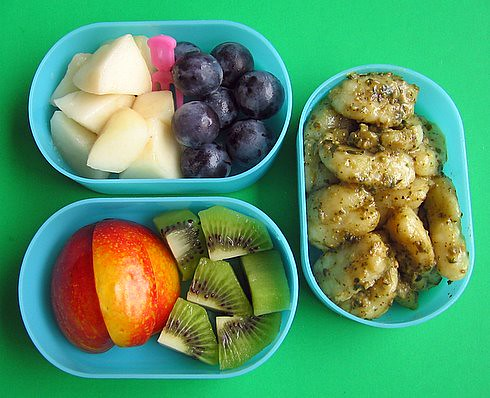 Homemade gnocchi box lunches