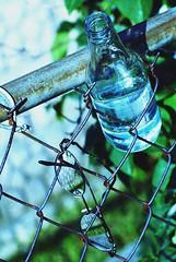 hanging on a fence (Violentz) Tags: fence glasses bottle grain utata utata:description=hide utata:project=ip29 ironphotography ironphotography29