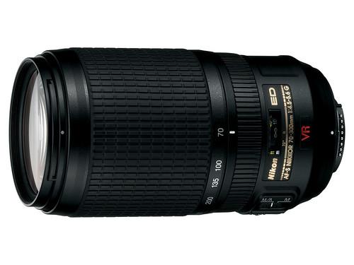lens ed nikon if nikkor vr afs dx 70300mmf4556g