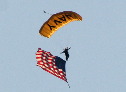 Navy Parachute