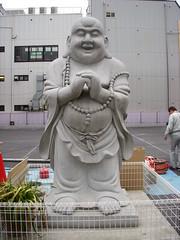 南京町 銅像