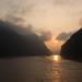 sunrise at Wu gorge