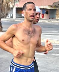 Joggers (Alan46) Tags: hot sexy men beach muscles israel telaviv runners joggers hunks