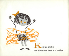 Space Alphabet: K (wardomatic) Tags: illustration book space alphabet childrensbook midcentury vintagebook spaceexploration retrokid vintageillustration