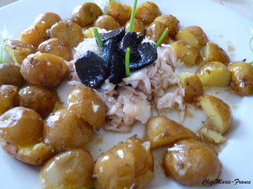 pommes de terre bonnottes et truffes