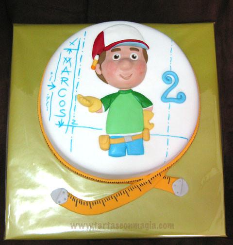 manny manitas handy manny cake