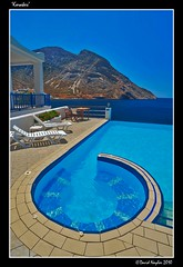 Korakes (View Factory) Tags: ocean blue sea water pool port swimming nikon paradise mediterranean harbour aegean greece relaxation spa sifnos cyclades kamares d700 davidnaylor