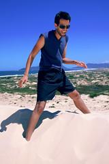 Marco Jordo (kaleonel) Tags: sc azul mar areia florianpolis karen cu marco dunas leonel jordo karenleonel kaleonel marcojordo