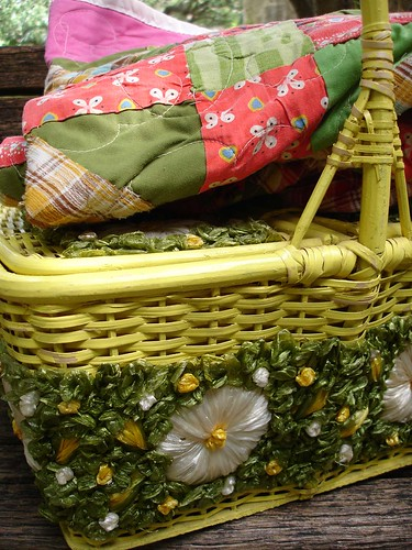 my new old picnic basket