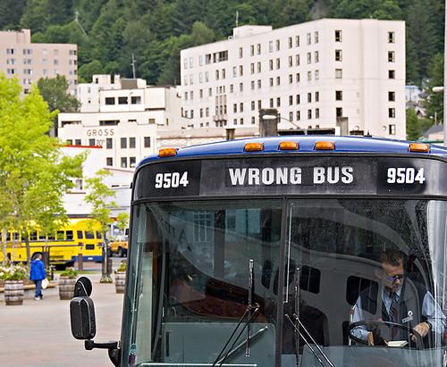 Wrong Bus