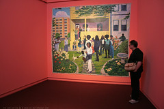 documenta 12 | Kerry James Marshall / Garden Party | 2003-2007 | Neue Galerie
