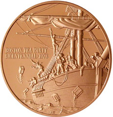 Bronze Franklin Mint Boston Tea Party Bi by kevindooley, on Flickr