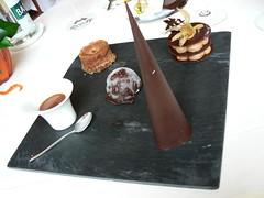 Assiette chocolat