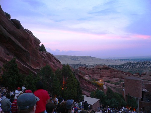 Sunset At Redrocks