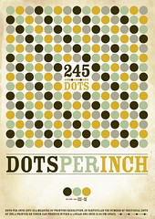 dpi_poster (nilson) Tags: orange brown vintage poster design experimental dot illustrator braun dots dpi nilson 245 dotsperinch