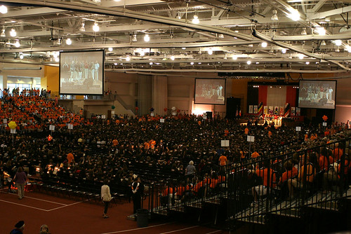 The Crowd at RIT's Gordon Field House