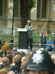 Mandela speaking