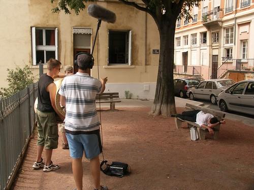 filmtrip Aufnahmen in Lyon
