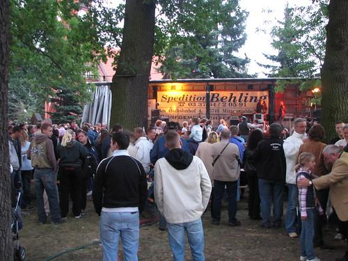 Dorffest Ragow 2007: Show-Bühne