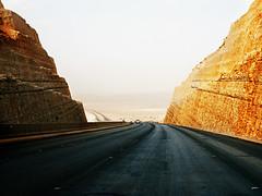 Road to Desert - Riyadh KSA (Charlie V. Antonio) Tags: road sky mountain highway rocks middleeast riyadh supershot cva171