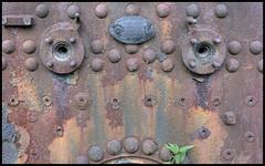 Old boiler (HDR) (xollob58) Tags: face germany deutschland gesicht rusty darmstadt hdr boiler rostig kessel trainmuseum kranichstein eisenbahnmuseum flickrgolfclub 7daysofshooting