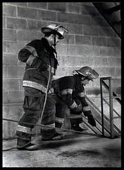 PFD Rescue (blonde_sage) Tags: film scanned firemen firefighters pfd nikonn60 philadelphiafiredept philadelphiafireacademy