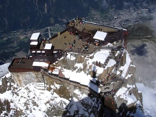 l'Aiguille du midi Mont-Blanc