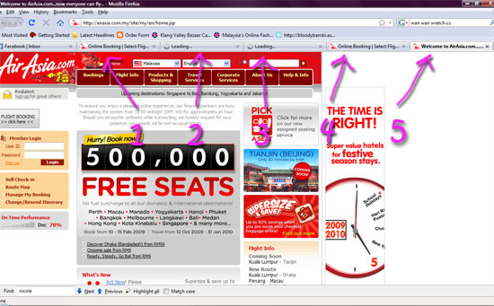 airasia sites