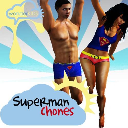 <(wonderkids)! superman chones ad