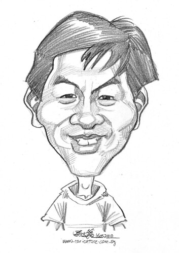 caricature for Hello Technology - 9