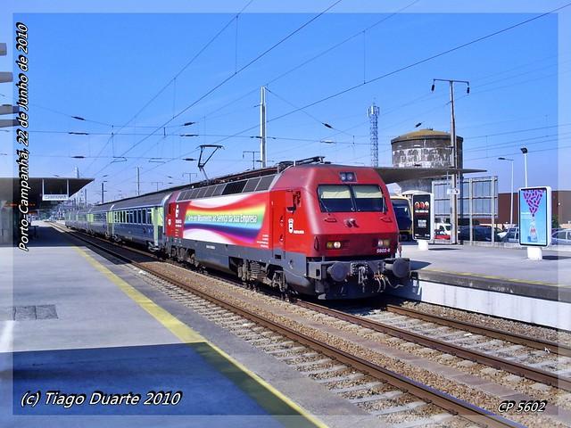 CP 5602 - Porto Campanhã - 22 de Junho de 2010