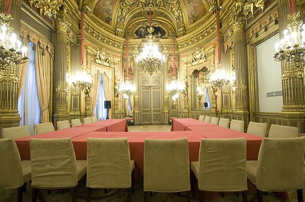 Visitas nocturnas palacio Linares